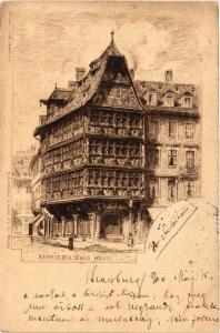 CPA AK Kammerzellsches Haus (474632)