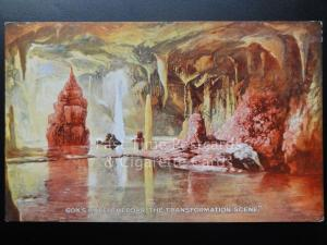 Somerset: Cox's Cave, Cheddar, The Transformation Scene, Old Postcard