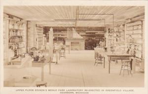 Michigan Dearborn Upper Floor Edison's Menlo Park Laboratory Greenfield ...