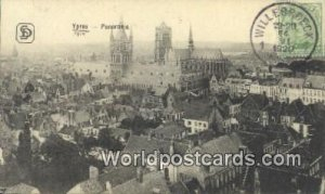 Ypres, Belgium 1920 Stamp on front