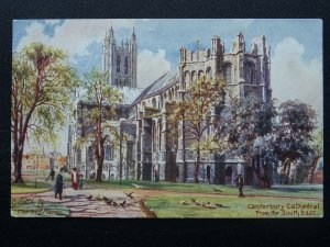 Kent CANTERBURY CATHEDRAL c1911 Postcard by Raphael Tuck 7021
