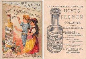 Victorian Trade Card Approx size inches = 3.25 x 4.5 Pre 1900 crease