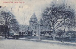 Colonial Hotel North East Pennsylvania 1910