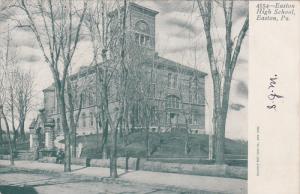 EASTON, Pennsylvania, 1900-1910's; Easton High School