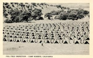 CA - Camp Roberts. Full Field Inspection