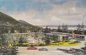 Swimming Pool,  Maples Motor Lodge,  North Shore Mountains,  North Vancouver,...