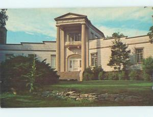 Unused Pre-1980 MUSEUM SCENE Huntsville Alabama AL hs9866