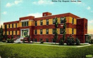Ohio Galion City Hospital Curteich