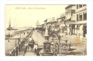 PORT SAID , Egypt , 00-10s Street of Francis-Joseph