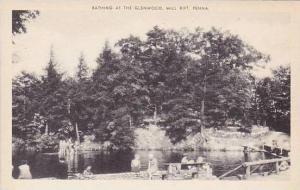 Pennsylvania Mill Rift Bathing At The Glenwood Artvue