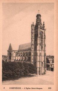 L'Eglise Saint-Jacques,Compiegne,France BIN