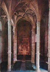 Portugal Lisboa Interior Mosteiro dos Jeronimos