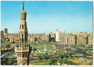Egypt, Cairo, Midan el Tahrir, Liberation Tahrir Square, 1960s unused Postcard