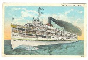 Steamer/Ship Put-In-Bay, PU-1928