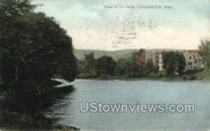 The Pond Leominster MA 1911