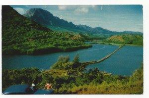 KAUAI, Hawaii, 1940-60s; Menehune Fish Pond