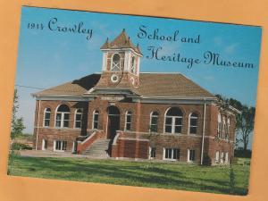Crowley School and Heritage Museum Postcard Colorado Historic Building