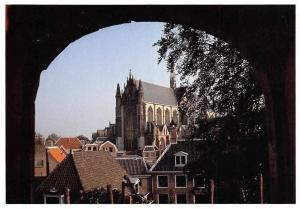 Netherlands Leiden in Beeld, Hooglandse Kerk seen from the Castle, Eglise Church