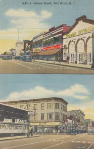 RED BANK , New Jersey, 30-40s ; Broad Street