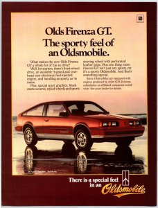 1984 Olds Firenze GT. Oldsmobile Print Ad N1