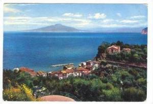 RP  SORRENTO,Il Vesuvio visto Capodimonte, Pu 1965