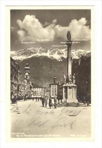 RP, Maria Theresiastrasse Mit Nordkette, Innsbruck (Tyrol), Austria, 1920-1940s