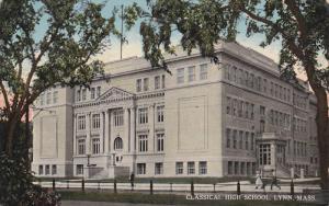 LYNN, Massachusetts, PU-1914; Classical High School