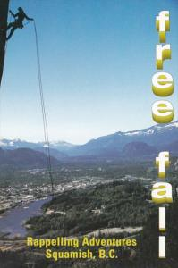 Canada British Columbia Squamish Free Fall Rappelling Adventures