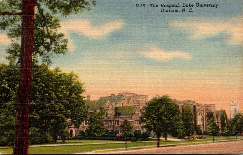 North Carolina Durham Duke University Hospital Curteich