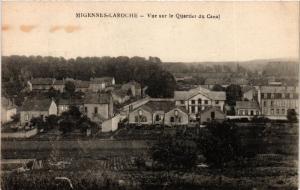 CPA MIGENNES - LAROCHE - Vue sur le Quartier du Canal (358504)