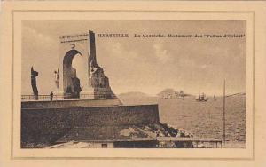 La Corniche, Monument Des Poilus d'Orient, Marseille (Bouches-du-Rhône), F...