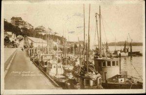 Ketchikan AK Fishing Boats 1927 Used Real Photo Postcard