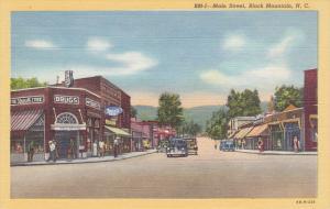 Main Street, Rexall Drug Store/Pharmacy, BLACK MOUNTAIN, North Carolina, 1930...