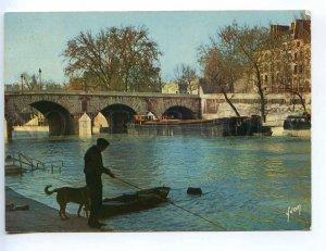 239359 FRANCE PARIS Seine Pont Marie bridge old postcard