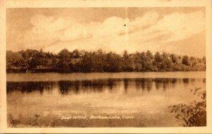 Connecticut Bantam Lake Showing Deer Island
