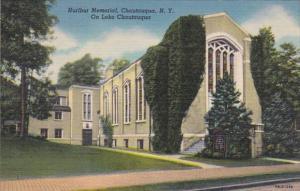 New York Chautauqua Hurlburt Memorial On Chautauqua Lake Curteich
