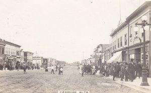 RP: Main Street (dirt) , CAMROSE , Alberta , Canada , PU-1913
