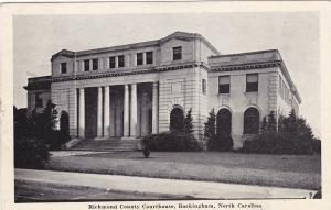 ROCKINGHAM, North Carolina, PU-1941; Richmond County Courthouse
