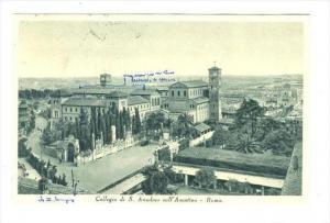 Collegio di S. Anselmo sull'Aventino - Roma, ITALY , PU-1946