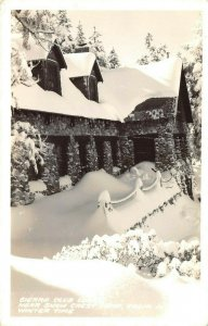 LP36  Sierra Club  Snow Crest Camp California RP Postcard  Frashers Publisher