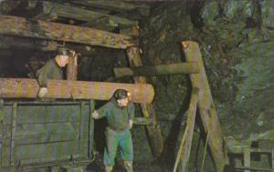 Timbering Inside A Mine Ashland Pennsylvania
