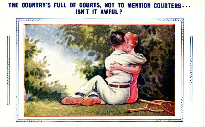 Tennis - The Country's Full of Courts    (Humor, Lovers)
