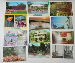 1950-90s Lot 12 OHIO Postcards Mt Gilead Lebanon Put-In-Bay Columbus Cleveland