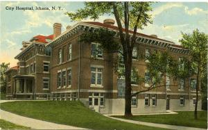 The City Hospital - Ithaca New York - DB - 1913