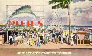 FL - Miami. Million Dollar Fishing Pier