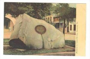 Memorial to Tomo-Chi-Chi, Savannah, Georgia,1907