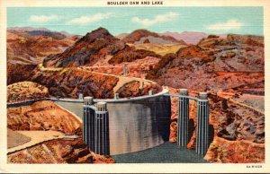 Nevada Boulder Dam and Lake Curteich