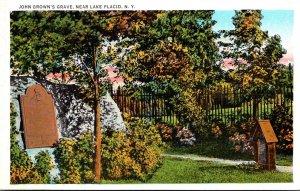 New York Lake Placid John Brown's Grave