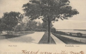 KEOKUK , Iowa , 1907 ;  Park Point