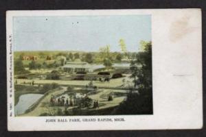MI John Ball Park GRAND RAPIDS MICHIGAN UDB Postcard
